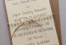Invitations / Wedding invite