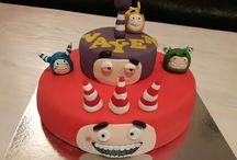 Odd Bods cake