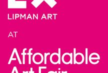 LIPMAN ART | EXHIBITS / Lipman Art at Art and Design Fairs in North America. Have a look at our installations, collections and stay tuned in to upcoming exhibitions!