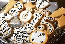 New Year' s Eve cookies