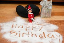 "Elf on a shelf ""Mitsy""  / by Heather Cunningham"