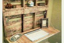 Idées sur palettes en bois