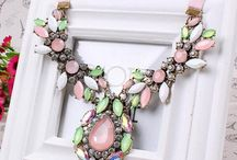 Pretty Jewelry Shop Necklaces Collection