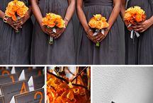 Fall wedding.