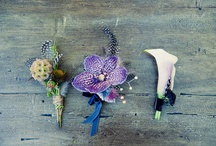 boutonnieres / boutonniere ideas for brides-to-be / by Katy Gray