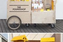 Mobile retail cart & Stall