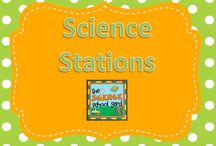 Science Stations / For the love of centers and science