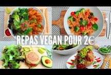 Vegan repas