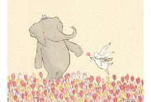 elephants 8 / by Dee Petersen Hardy