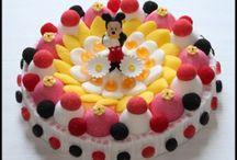 gâteau de bonbons mickey