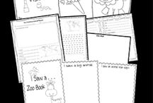Homeschooling {reading & writing} / Homeschool ideas, activities and printable to teach reading and writing