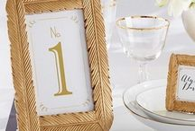 Golden Glam - Wedding Theme / Add some sparkle and elegance to your wedding with our Golden Glam Wedding Favors Collection.