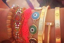 Bracelets  / by Trobie Walls