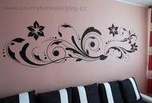 kresby na zdi