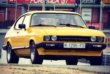 Ford Capri / Imágenes de un icono de los 80 en el mundo del motor.