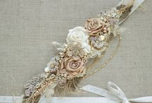 BRIDAL SASH AND BELT