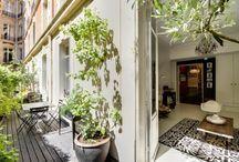 CHAMPS ELYSEES - Rue Lauriston Superbe rez-de-jardin au sein d'une voie privée
