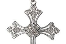 victorian cross pendants
