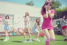 """Laboum / Laboum (Korean: 라붐; stylized as LABOUM) is a South Korean girl group that debuted in 2014 under NH Media and Nega Network. Their name means """"the party"""" in French."""