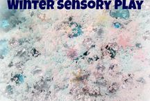 Sensory Play / Lots of fun ways to learn through Sensory Play!  Ideas for every month! / by ABC Creative Learning