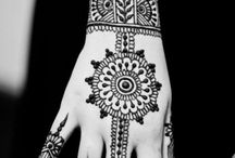 mehandi tattoo