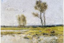 Banyoles, Girona. / Eliseo Meifrén Roig. Pinturas al óleo de Banyoles, Girona.