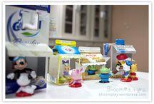 Made from Milk Cartons / Crafts for kids using milk cartons.