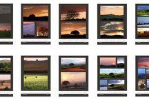 Calendari / Calendari fotografici anno2014 ( paesaggi toscani,still life, opere personali ecc.) da muro ,14 pagine stampa su un lato,su carta patinata opaca200gr. formato 30x42cm,