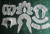 laces and antique textiles