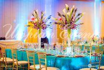 Wedding | Indian | Receptions / Regency Ballroom | Teal | Prefunction | Atrium | Studio 220 @ NOMA | NOMA Square | Sangeet | Mandap | Baraat