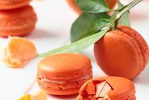 Macaron clémentine