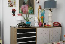 Retro lovin / Retro eclectic is my jam! Hoping to embrace my inner hippy with a house shake up!