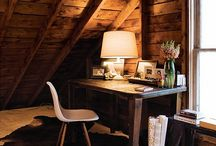 Attics, nooks & window seats