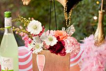 Flamingo Fling 1st birthday party / Baby Isla's first birthday  / by Chae MacLea