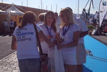 Keep Your Cool with CMF - SYC 2014 / The CMF A-Team aided hot and bothered sailors with ice-lollies as they arrived back at the dock @STP_palma during the Superyacht Cup 2014.