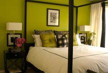 Slaapkamers groen
