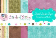 Digital Papers by Cute As A Button Stamps & Designs / Cute As A Button Stamps & Designs is now offering digital  design scrapbook papers and bottle caps designs. I invite you to take a look around.    http://cute-as-a-button-stamps.myshopify.com  #papers #cards #craft #cardmaking #digital