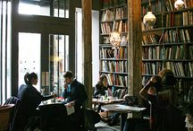 * Coffee, bookshops and libraries* / by Jade