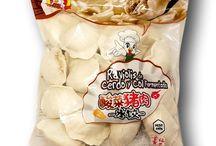 East Asia Dumplings & Meat Balls / Frozen dumplings , such as jiaozi, gyoza, mandu, dim sum, meat floss, meat buns....
