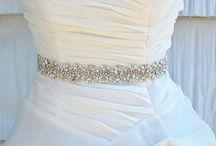 Belte brudekjole