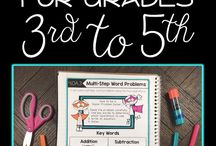 4th Grade math / by Connie Maetzold