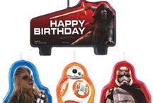 Star Wars Force Awakens Party / Is the force with you? You can find everything you need from great ideas to decorations to have a Star Wars: Force Awakens Theme Party. With this decorations you can truly awake the force at your next party!