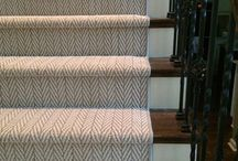 Carpet - Bullnose vs Waterfall Stairs / see the difference in styling between a bullnose step vs a waterfall step