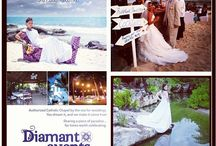 This is us your riviera maya destination wedding company DIAMANT EVENTS  / Luxury destination weddings CANCUN and riviera maya