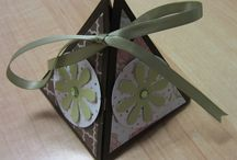Papercraft Projects / Projects made our of cardstock, papers and embellishments.