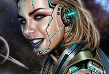 Fantasy art & Sci FI / Fantasy Art and Sci-Fi arts.