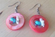Earrings - Vintage - Handmade / https://www.etsy.com/au/shop/AWomansCharm?section_id=18827690&ref=shopsection_leftnav_1