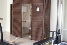 Sauna u. Infrarotkabinen