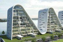 Spännande arkitektur