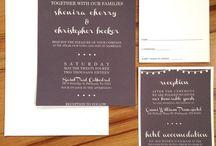 A&O '16 - Wedding stationery.